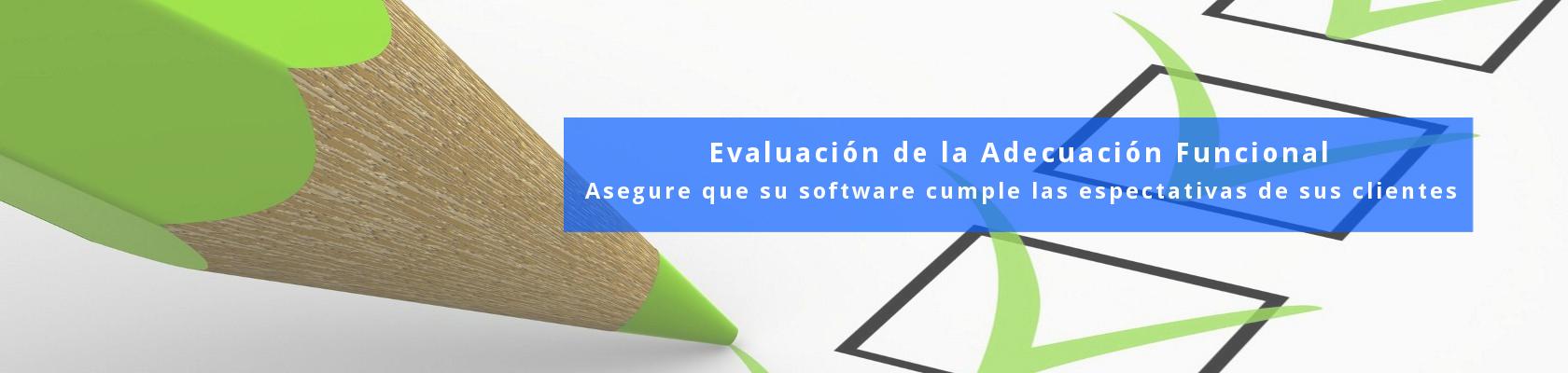 Evaluación de la Adecuación Funcional - ISO/IEC 25000