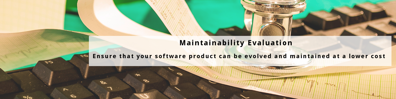 Maintainability Evaluation - ISO/IEC 25000